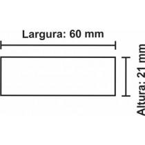 Etiqueta Térmica Urano 21mm x 60mm, com pinta