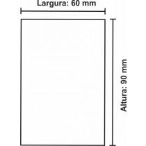Etiqueta Térmica Urano 90mm x 60mm, com pinta