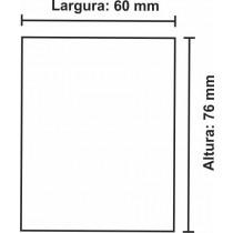 Etiqueta Térmica Urano 76mm x 60mm, com pinta