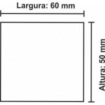 Etiqueta Térmica Urano 50mm x 60mm, com gap