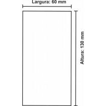 Etiqueta Térmica Urano 130mm x 60mm, com gap