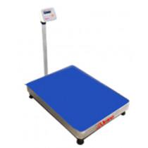 Balança de plataforma UR 10000 600/100, 60X80cm, pesadora e contadora, bandeja e coluna aço inox, com bateria