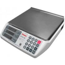 CP 15/1 POP - Balança pesadora e contadora de peças, com bateria