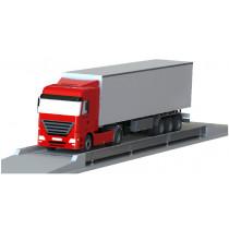 Balança rodoviária Rodo Cargo 9 X 3,2m, 40T, vigas metálicas laterais e plataforma em concreto, com Pesonet