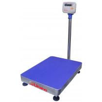 Balança de plataforma UR 10000 150/50, 40X50cm, pesadora e contadora, bandeja e coluna aço inox