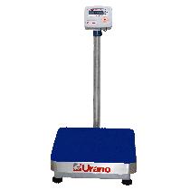 Balança de plataforma UR 10000 60/10, 40X40cm, contadora e pesadora, bandeja e coluna aço inox