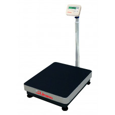 Balança de plataforma UR 10000 LIGHT 500/100, 50X60cm, estrutura metálica, bandeja e coluna aço inox