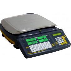 Balança etiquetadora B35 - Wi-Fi (amarela/cinza)