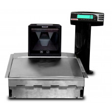 Balança para checkout Urano UDC CO E 30/5 com scanner vertical 2D - USB