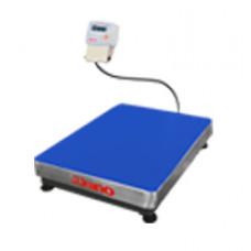Balança de plataforma UR 10000 500/100, 60X80cm, pesadora e contadora, bandeja aço inox, sem coluna e com bateria
