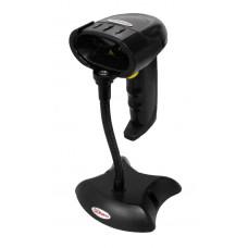USHM-U - Scanner de mão, laser, USB, com pedestal