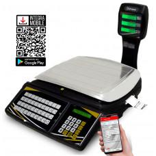 Balança etiquetadora TOPMAX-SS PLUS 30/2 para uso com Integra Mobile – Wi-Fi