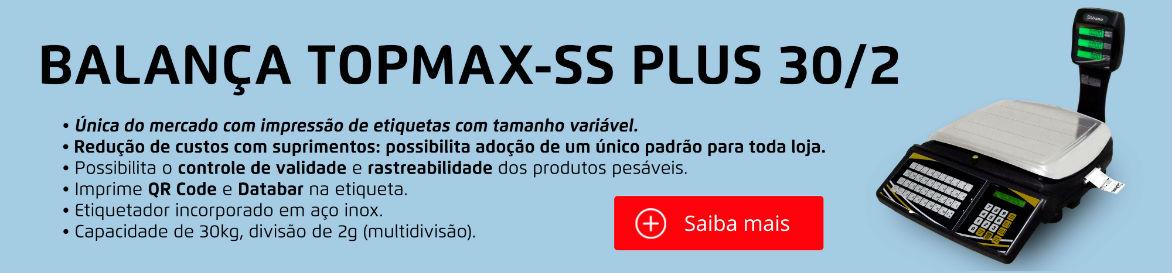 BALANÇA TOPMAX-SS PLUS 30/2 WI-FI