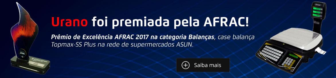 Urano ganha prêmio AFRAC 2017