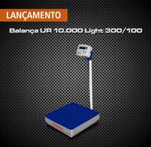 Nova balança de plataforma UR 10.000 Light 300x100, 40x40