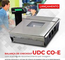balança de checkout com scanner 2D horizontal