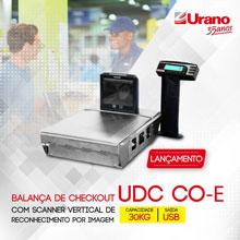 balança de checkout com scanner 2D vertical