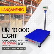 Balança de plataforma UR 10000 Light de 300kg