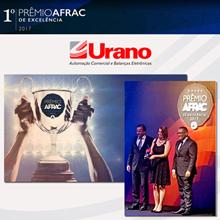 Urano ganha prêmio AFRAC