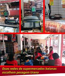Urano em supermercados da Bahia