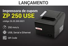 Impressora de Cupom ZP 250 USE