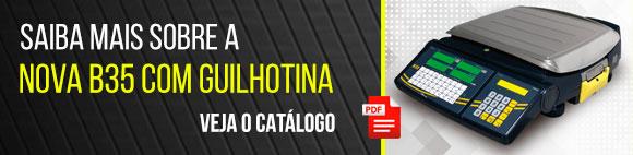 Veja o catálogo da B35 com guilhotina